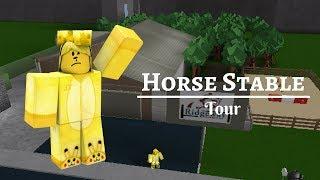 Pferd Stall || Tour || Willkommen in Bloxburg || Roblox