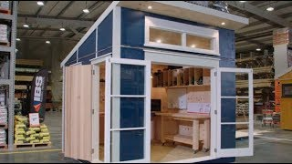 Hobby Shed / Workshop   Mitre 10 The Lock In with George Clarke