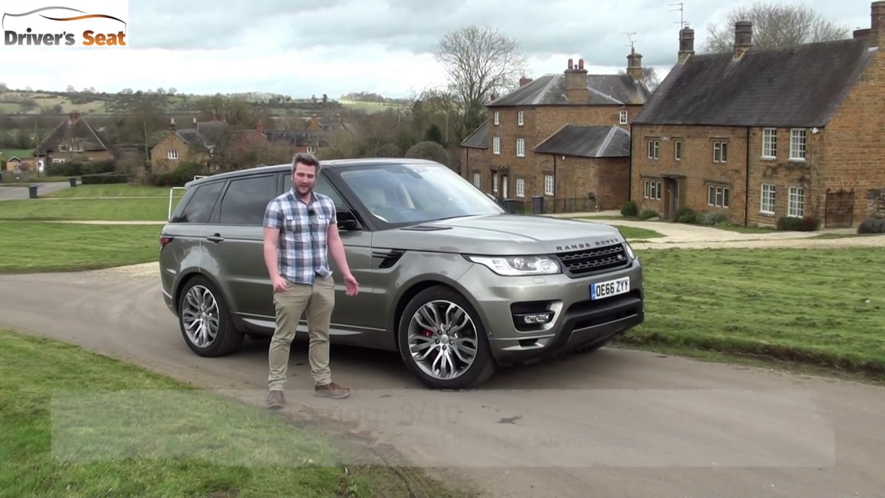 Range Rover Sport 2017 Review Driver S Seat Youtube