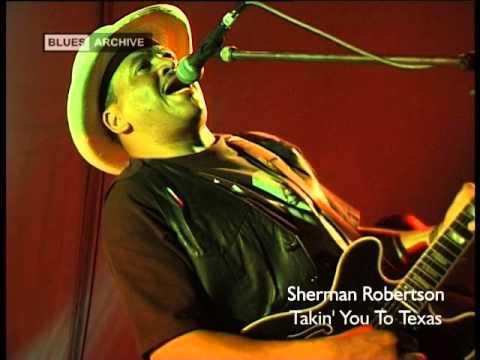 SHERMAN ROBERTSON 'TAKIN' YOU TO TEXAS' trailer -  JSP5808 on JSP Records