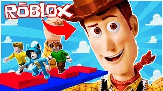 TOY STORY 4 ESCAPE!! OBBY ROBLOX 💙💚💛 BE BE MILO VITA UND ADRI 😍 AMIWITOS