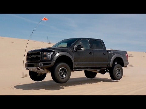 Perfect Day! Hooning the 2017 Ford Raptor at the Dunes