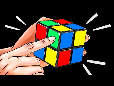How To Solve A 2x2 Rubik's Cube In A Minute   The Quickest Tutorial
