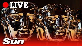 Stars walk the red carpet ahead of the BAFTA awards