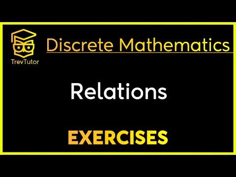 [Discrete Math 1] Relations Examples