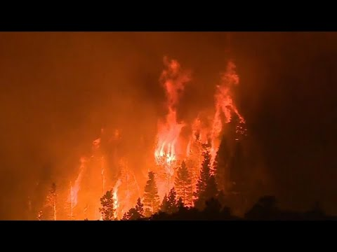 Half a million acres burned in western wildfires