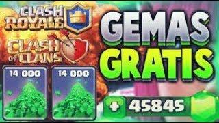 Como tener gemas gratis en clash of clans o en clash royale
