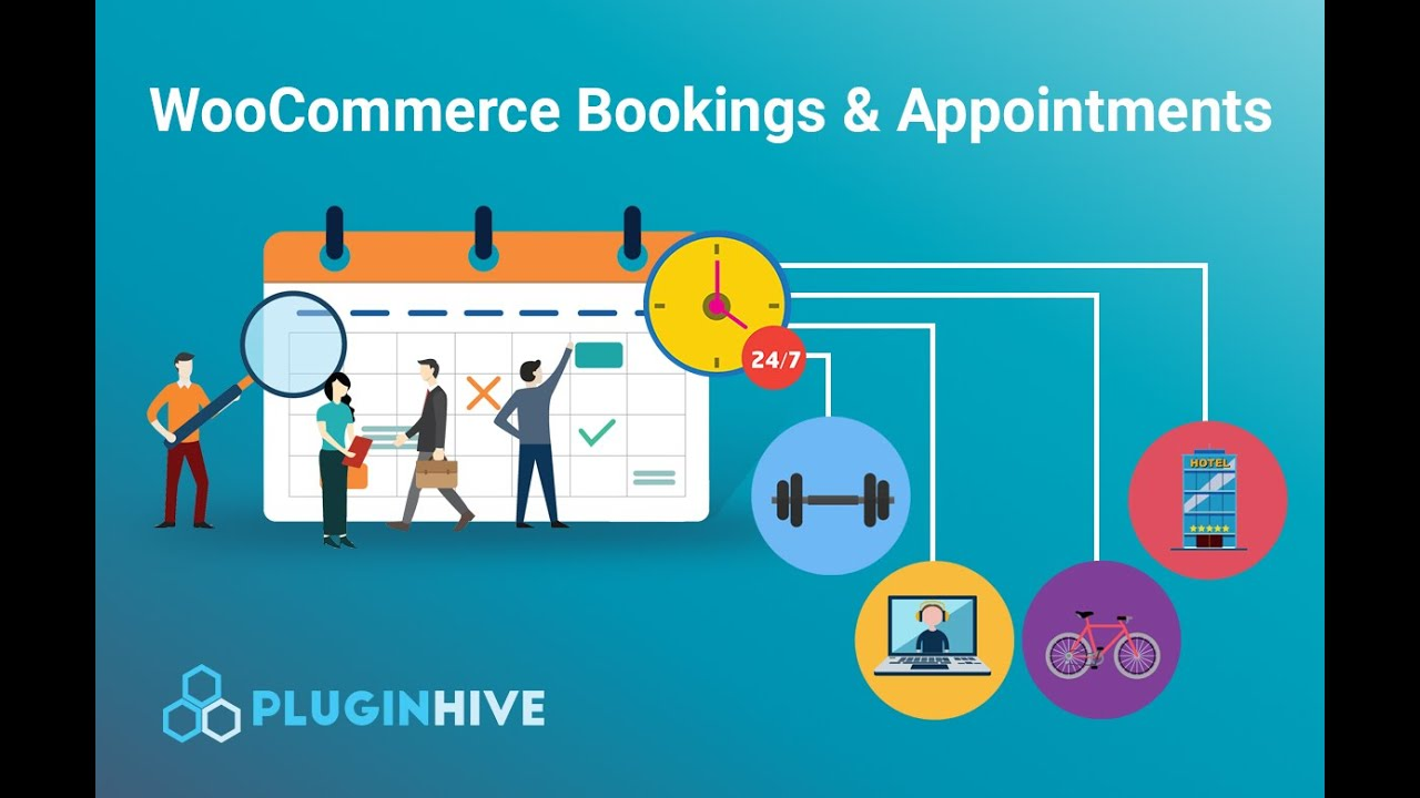 WooCommerce Bookings and Appointments Plugin Free - PluginHive