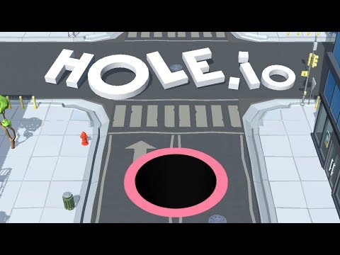 HOLE.IO IOS / Android Gameplay Highscore Trailer | Arcade Game For Kids