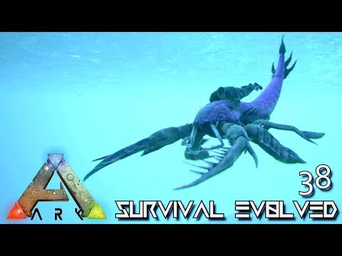 ARK: SURVIVAL EVOLVED - NEW EURYPTERID TRILOBITE & OTTER RIDEABLE TAMES !!! E38 (MOD PUGNACIA DINOS) thumbnail