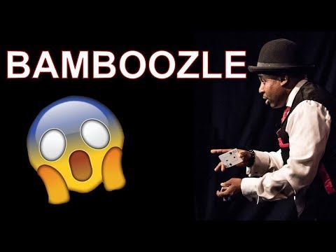 😱 Learn English Words - BAMBOOZLE - Meaning, Vocabulary Lesson with Pictures and Examples