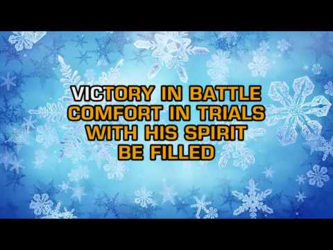 Traditional Christmas Songs - Into His Presence (Karaoke)