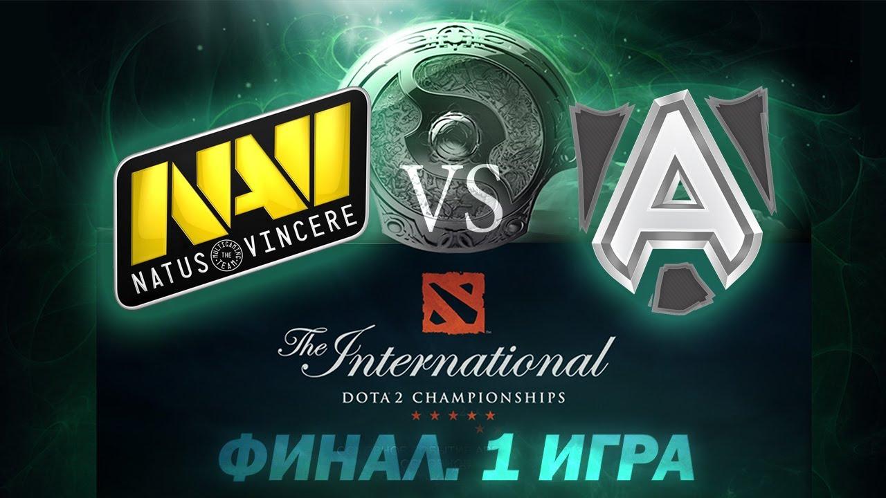 Download Alliance vs Na'Vi - Финал 1 Игра (The International 2013) [Русские Комментарии)