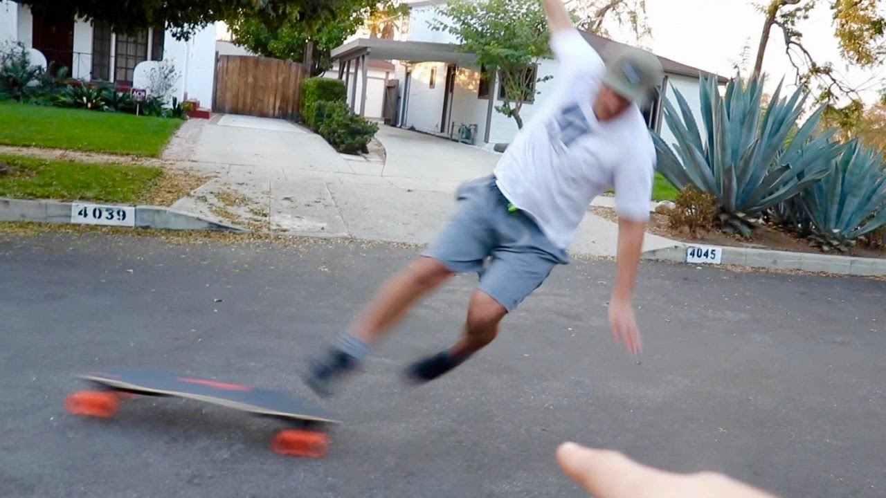 FLYING OFF A $1600 SKATEBOARD FAIL!! - YouTube