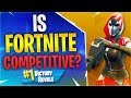 IS FORTNITE COMPETITIVE?! Feat. Timthetatman, Hysteria, Poach (Fortnite Battle Royale)