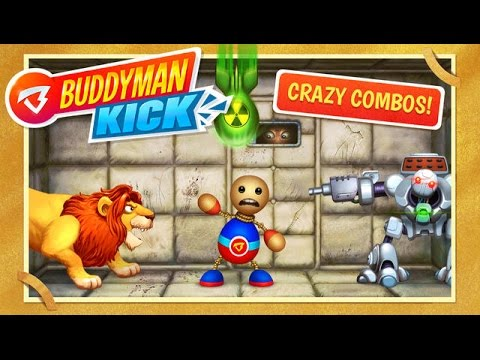 🤡#Buddyman:🤓😅 Kick (by Kick the Buddy) - Compatible with iPh