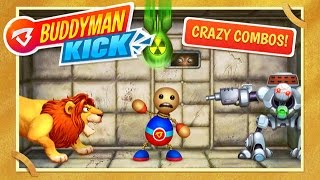 Repeat youtube video #Buddyman: Kick (by Kick the Buddy) - Compatible with iPhone, iPad, and iPod