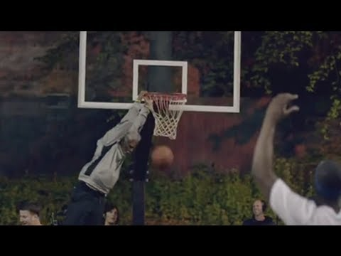 NBA: Basketball horror Injury : Scary Hoop Collapse on Globetrotter, Shatters Backboard