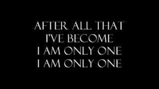 we are the fallen- I am only one lyrics