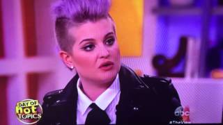 Kelly Osbourne ask Donald Trump who would clean your toilets if Latinos leave. ouch.