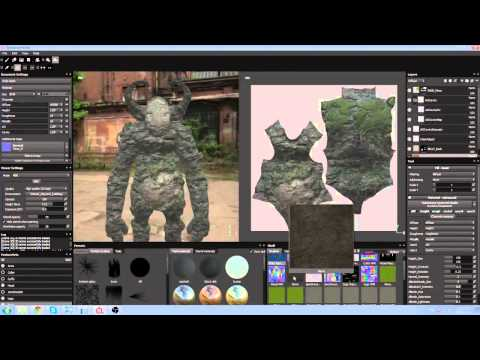 Substance Painter Tutorial (Subtitled): Learning texture painting