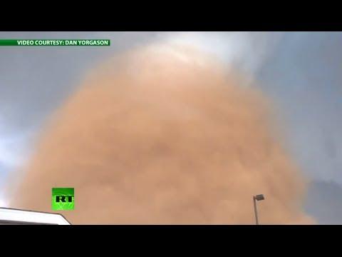 Stunning close-up tornado video of massive North Dakota twister