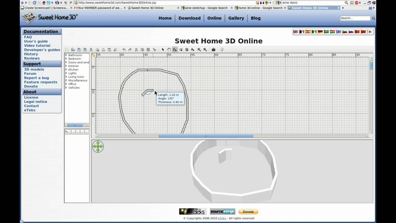 sweet home 3d needs a basic shape editor - YouTube