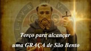 TERÇO PARA ALCANÇAR UMA GRAÇA DE SÃO BENTO.mp4