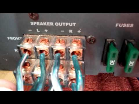 Hook up multiple amps