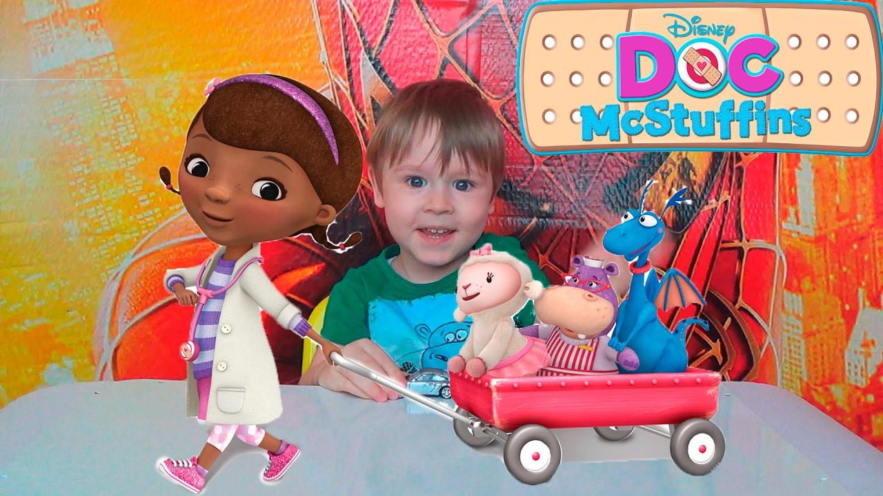 Доктор Плюшева - Новая серия киндер сюрпризов - Игрушки для детей