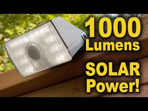 Protecht Outdoor Solar Lights Review | How to Install & Use