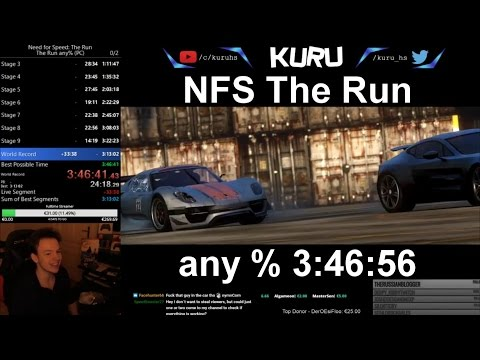 Need for Speed The Run 3:46:56 any%