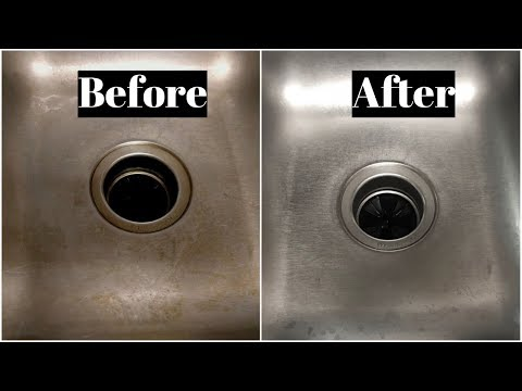 Kitchen Sink Cleaning in Tamil | Sink cleaning with Vinegar and Baking Soda like New