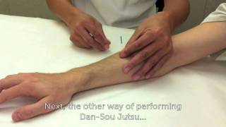 Japanese Style Acupuncture Technique Dan-Sou Jutsu 弾爪術