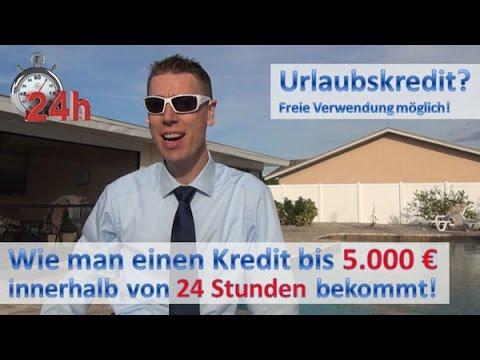 5000 Euro Kredit in 24 Stunden ⇒ einverstanden?