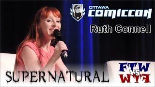 Supernatural - Ruth Connell (Rowena) - Ottawa ComicCon Panel