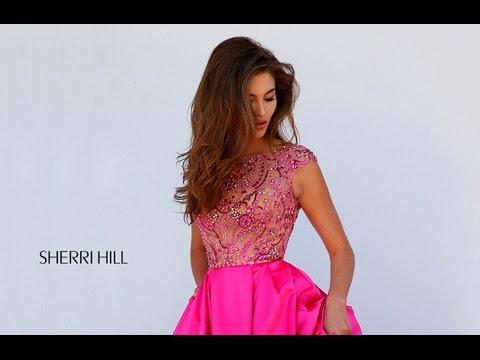 2bd01e7d54659 Sherri Hill 32359 Prom Dress - YouTube