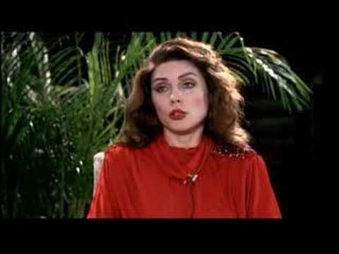 Interview scene in Videodrome with Debbie Harry as Nicki
