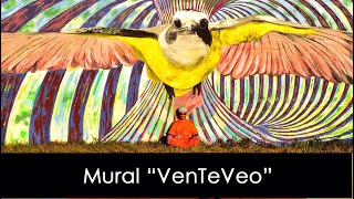 Mural VenTeVeo Pedro Vayu Gallinger 2020