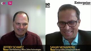 Jeff Schmitz, Senior Vice President and Chief Marketing Officer at Zebra Technologies.