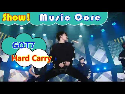 [HOT] GOT7 - Hard Carry, 갓세븐 - 하드캐리 Show Music core 20161015