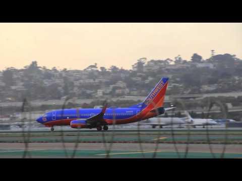 Plane Spotting at San Diego International Airport