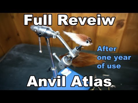 Anvil Atlas Full Review - After a year of using this fly tying vice - McFly Angler Reviews