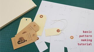 how to make a tag template   basic pattern making