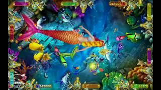 kylin strike arcade fishing game machine with good holding