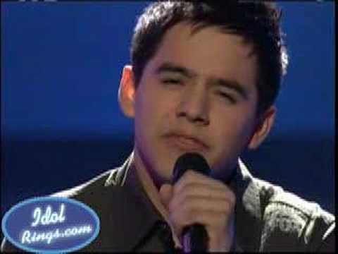 """David Archuleta - """"Love Me Tender"""" - Idol Final 4-May/6/2008"""