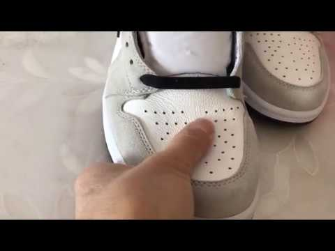 Air Jordan 1 High Og Light Smoke Grey Review Youtube