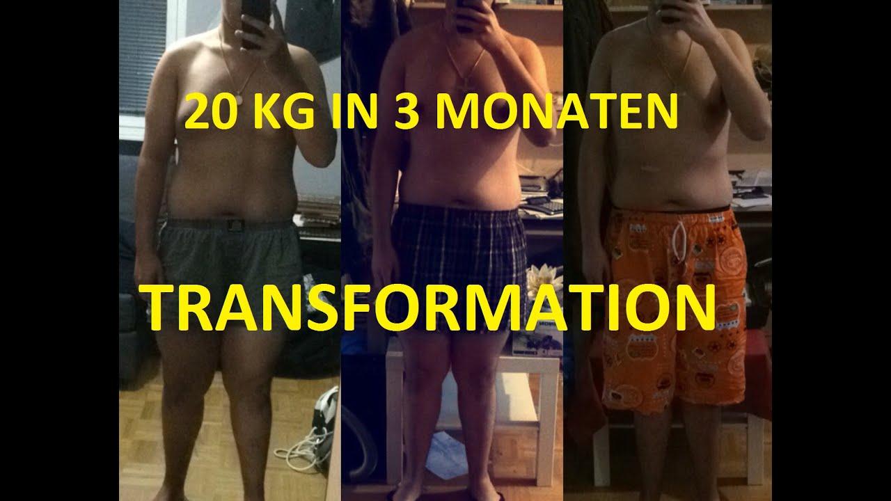 20 kilo abnehmen in 2 monaten