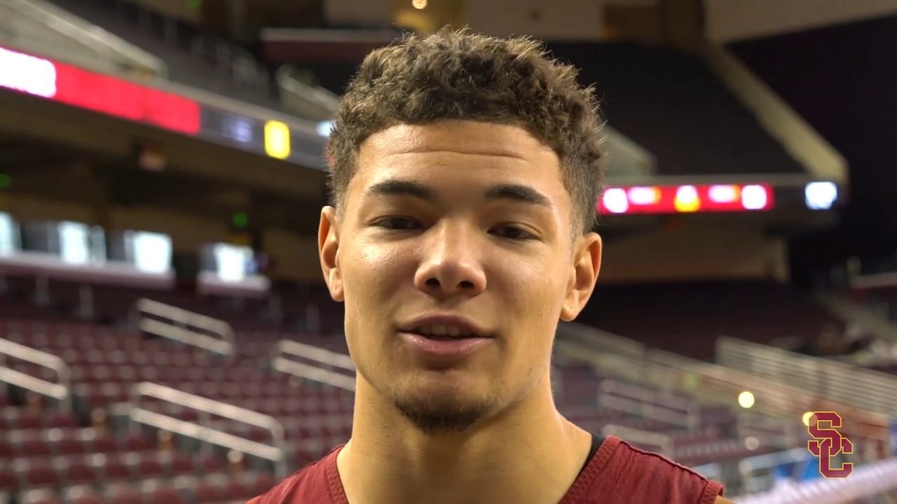 half off b3e0f 6f8ee USC Men s Basketball - Meet Jordan Usher