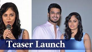Ekkadiki Potavu Chinnavada Teaser Launch || Nikhil , Nandita Swetha ,Hebah Patel - Chai Biscuit